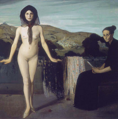 Angel Zarraga -  La bailarina desnuda  (1907-1909)