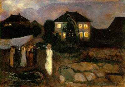 Edward Munch   -   The storm