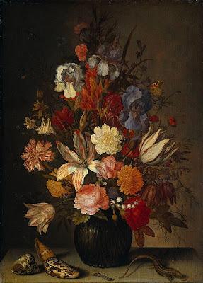 Balthasar van der Ast ( 1593 –  1657)/Still Life with  Flowers