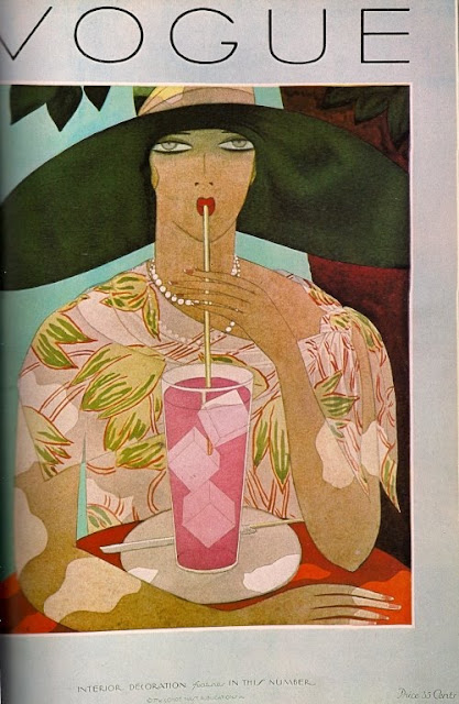 Helen Dryden - Vogue cover - march , 1923