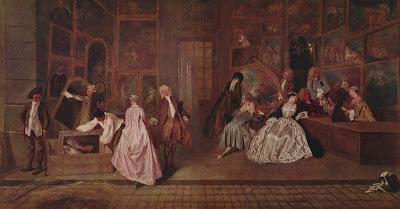 Watteau - A l'Enseigne de Gersaint