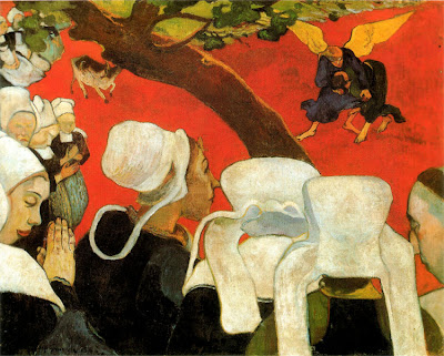 Paul Gauguin, La Vision du Sermon