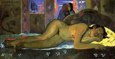 Paul Gauguin Nevermore Oh Tahiti  (1897)