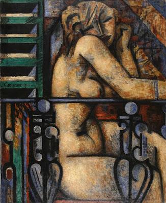 Marcel Gromaire - Nu au balcon 1933