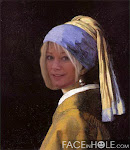 Yep, that's me! Girl with a Pearl Earring