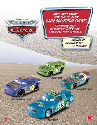 Disney pixar cars kmart collectors day 10 18 08