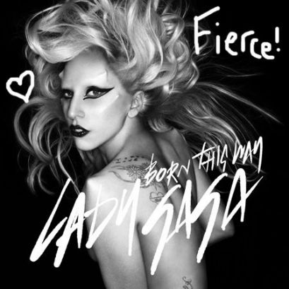 lady gaga born this way album cover. Lady Gaga#39;s single orn
