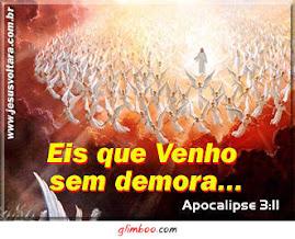 Jesus está Voltando!