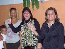 Ev.Lucia,Pra Célia e Ev.Miriam