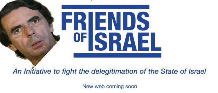 El PP abre una sede en Israel y promete estudiar cómo dar la doble nacionalidad a los hijos de españole Aznar+israel+copia