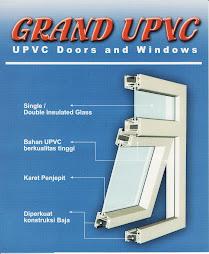Jendela, Kusen dan Pintu UPVC
