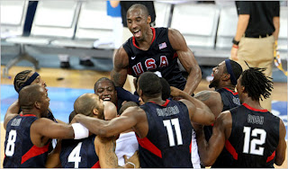USA Spain Basketball gold