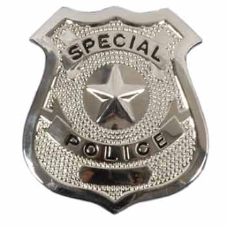 police badge detail