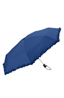 blue ruffle umbrella nordstrom colonial canopy umbrella modcloth while ...