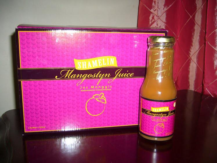 Jus Manggis/Mangostyn juice