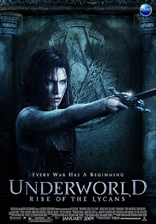 Underworld - Rise Of The Lycans (2009) poster