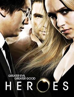 Heroes Season 4 (2009) -poster