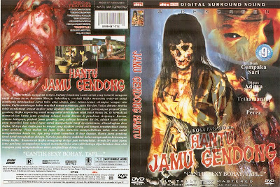 Hantu Jamu Gendong (2009) (Indonesian) DVD Cover