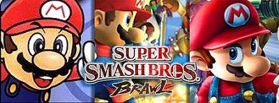 Super smash bros series evolution