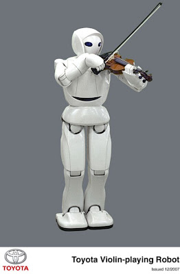 Toyota Violin playing Robot