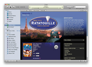 Hands on image demo with iTunes movie rentals