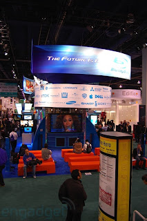 Blu Ray Booth Tour at CES 2008