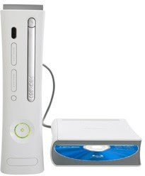 Xbox 360 with Blu ray