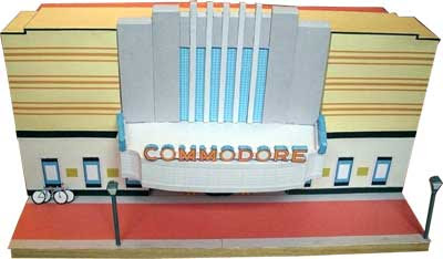 Commodore Theatre Papercraft