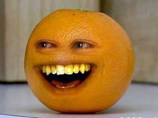 The Annoying Orange Papercraft