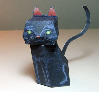 Black Cat Papercraft