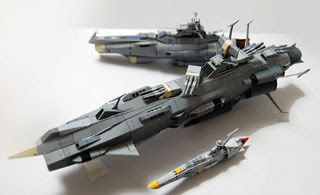 Andromeda Battleship Papercraft