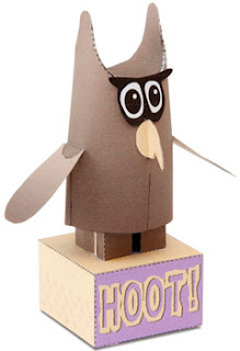 Hoot Papercraft Owl