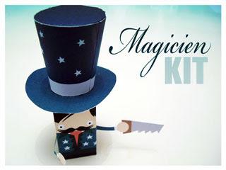 Magician Papercraft