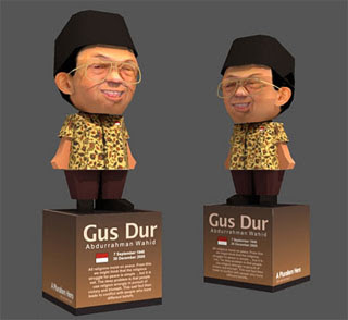 Gus Dur Papercraft