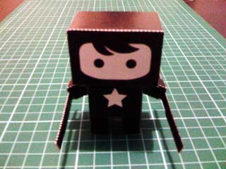 Rondo the Dude Papercraft