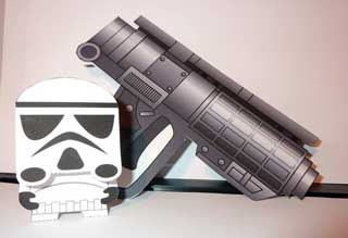 Stormtrooper Shooter Papercraft