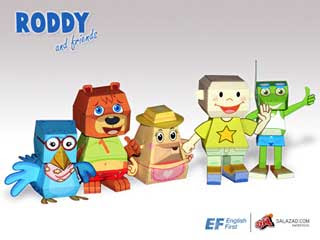 Roddy & Friends Papercrafts