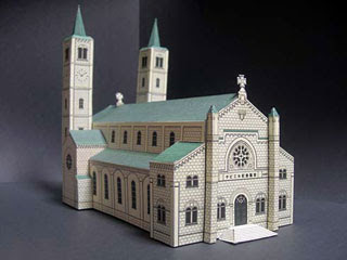 St. Francis Xavier Memorial Church Papercraft