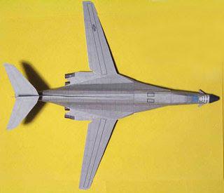 Boeing B1 Lancer Papercraft