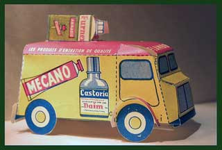 Flambo Delivery Truck Papercraft