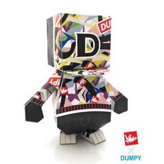 Philtoys Dumpy Paper Toy