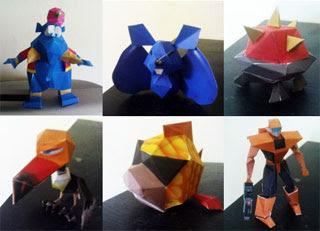 Nintendo 64 Papercrafts