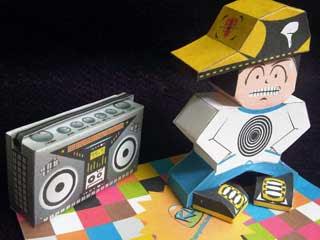 BBoy Paper Toy