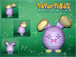 Whismur Papercraft