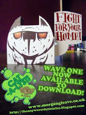 Catalyst Paper Toy Wave One