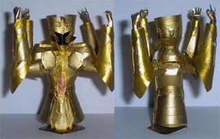 Saint Seiya Gemini Armor Papercraft