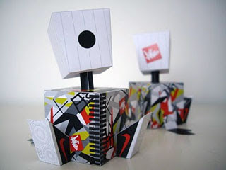 Mini Box Can Paper Toy
