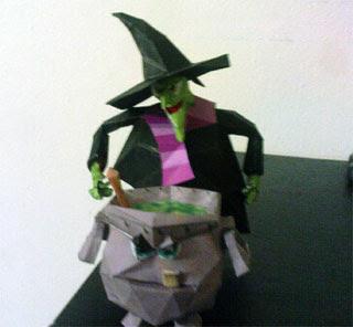 Gruntilda Papercraft