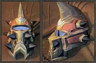 Horde Tier 9 Plate Helmet Papercraft