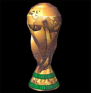 FIFA World Cup Trophy Papercraft
